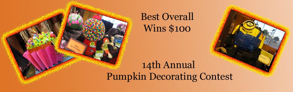 14th Annual Pumpkin Decorating Contest