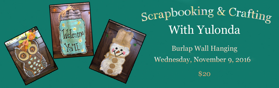 Scrapbooking And Crafting With Yulonda November 2016 Project