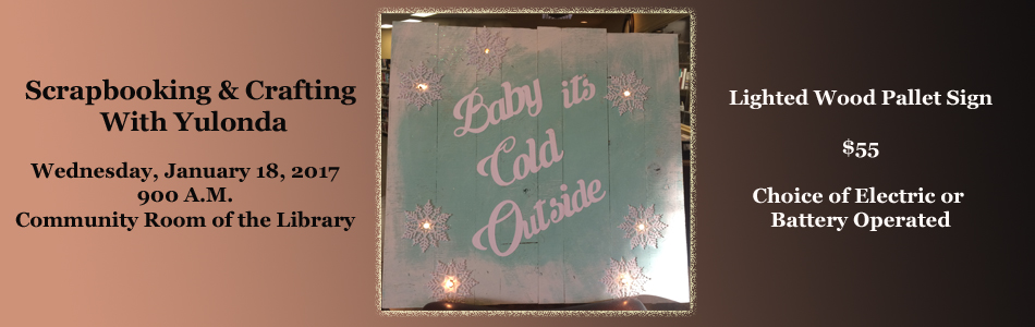 Scrapbooking And Crafting With Yulonda December 2016 Project