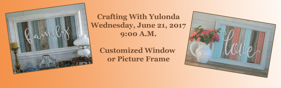 Crafting With Yulonda