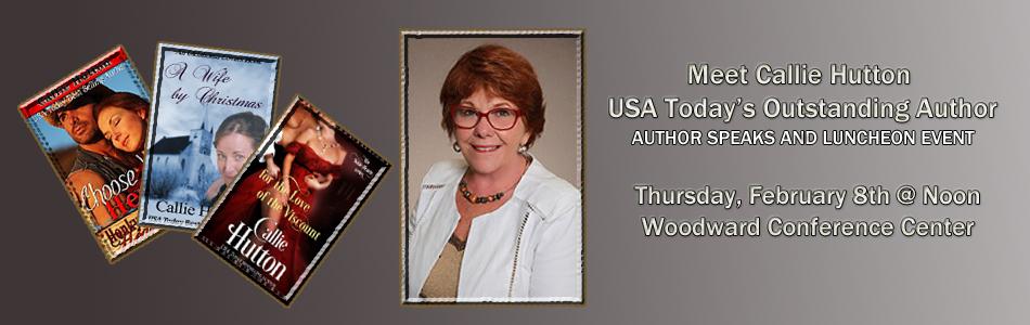 Callie Hutton Author Event