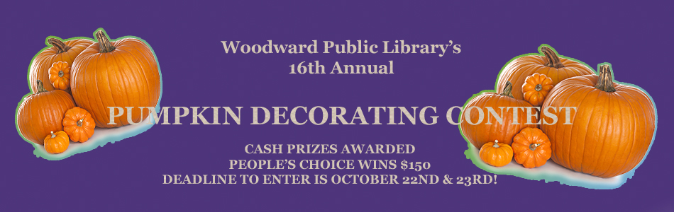 16TH ANNUAL PUMPKIN DECORATING CONTEST