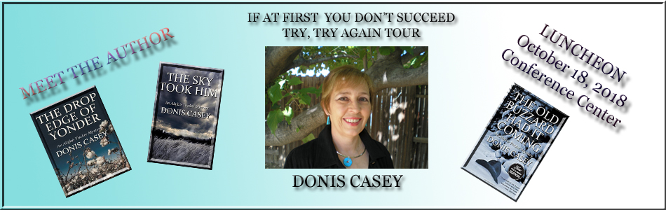 Donis Casey Author Speaks and Luncheon