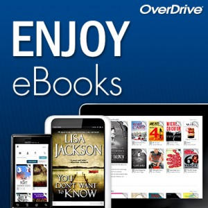 ebooks and more through Overdrive