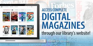 digital magazines through zinio