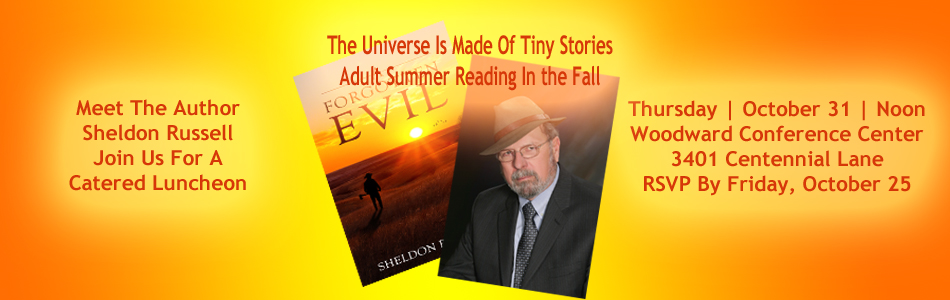 Sheldon Russell Meet The Author