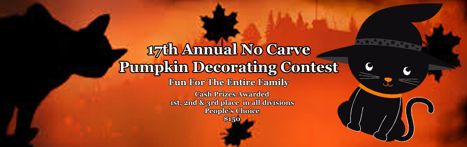 17th Annual Pumpkin Decorating Contest