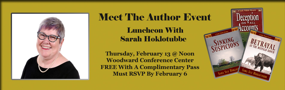 Meet The Author Event and Luncheon With Sara Hoklotubbe