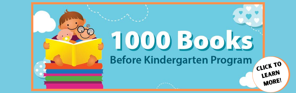 1,000 Books Before Kindergarten!